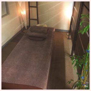 個室のプライベート空間でリラックスできます